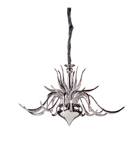 Artcraft Lighting Baby Swan 30 Light Chandelier in Chrome AC930CH photo