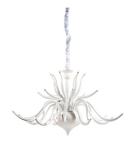 Artcraft Lighting Baby Swan 30 Light Chandelier in White AC930WH photo