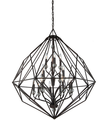 Artcraft CD2016OB Monterey 16 Light 36 inch Oil Rubbed Bronze Chandelier Ceiling Light photo