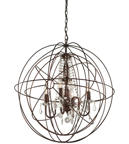 Artcraft CL1505 Carnaby Street 5 Light 28 inch Oil Rubbed Bronze Chandelier Ceiling Light photo