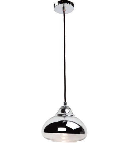 Artcraft JA795 Brooklyn 1 Light 9 inch Chrome Pendant Ceiling Light photo