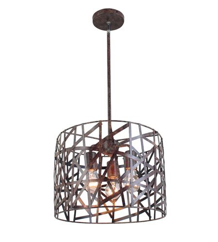 Artcraft Lighting Collingwood 3 Light Pendant JA825 photo