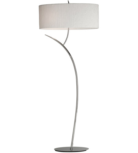 Steven & Chris by Artcraft Lighting Sloan 2 Light Floor Lamp in Chrome SC204 photo
