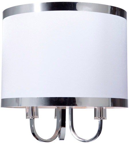 Steven & Chris by Artcraft Lighting Madison 3 Light Chandelier in White SC433 photo