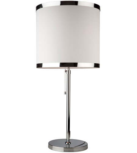 Steven & Chris by Artcraft Lighting Madison 2 Light Table Lamp in White SC439 photo