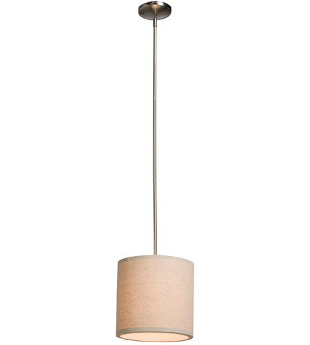ARTCRAFT Mercer Street 1 Light Pendant in Oatmeal SC520OM photo