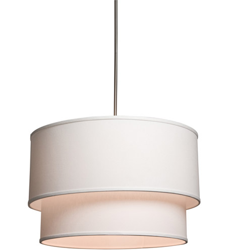 Steven & Chris by Artcraft Lighting Mercer Street 3 Light Chandelier in White SC522 photo