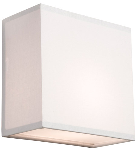 Steven & Chris by Artcraft Lighting Mercer Street 1 Light Wall Bracket in White SC547 photo