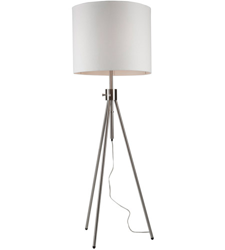 Artcraft SC589WH Mercer Street 57 inch 60 watt White Floor Lamp Portable Light photo