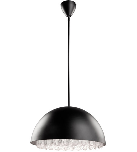 Steven & Chris by Artcraft Lighting Horizon 3 Light Pendant in Black SC623 photo