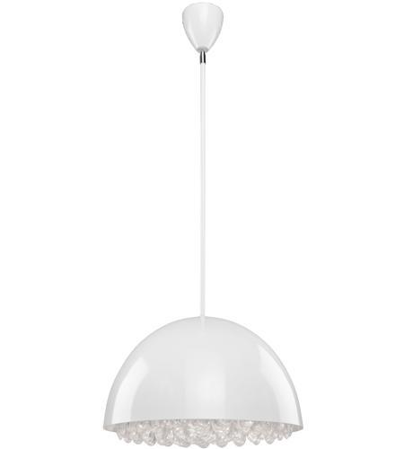 Steven Chris By Artcraft Lighting Horizon 3 Light Pendant In White Sc623