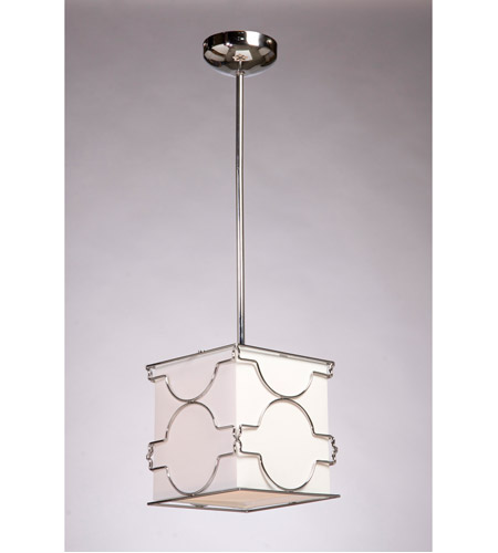 ARTCRAFT Morocco 1 Light Pendant in Chrome SC631 photo