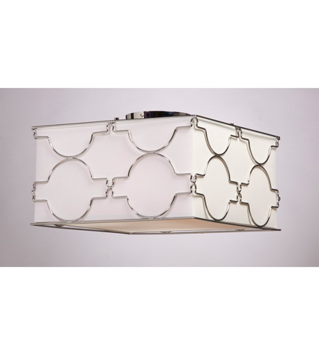 Steven & Chris by Artcraft Lighting Morocco 4 Light Flush Mount in Chrome SC636 photo