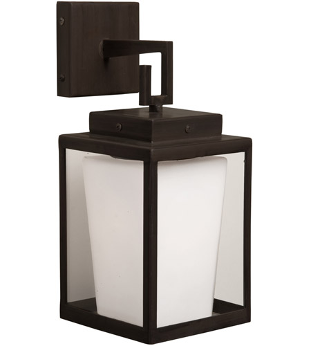 Artcraft SC754 Hyde Park 1 Light 6 inch Dark Brown Wall Bracket Wall Light photo
