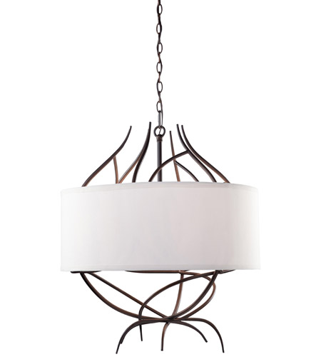 Steven & Chris by Artcraft Lighting Willow 9 Light Chandelier in Organically Shaped Branches SC766 photo