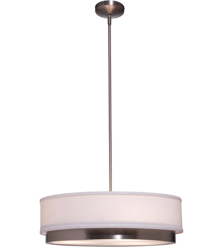 Steven & Chris by Artcraft Lighting Scandia 3 Light Chandelier in Brushed Nickel SC782 photo