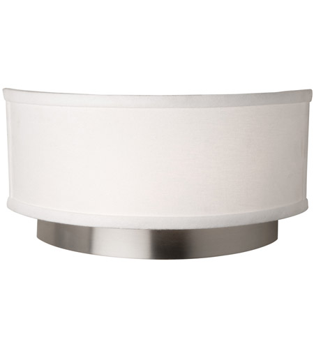 Steven & Chris by Artcraft Lighting Scandia 2 Light Wall Bracket in Brushed Nickel SC787 photo
