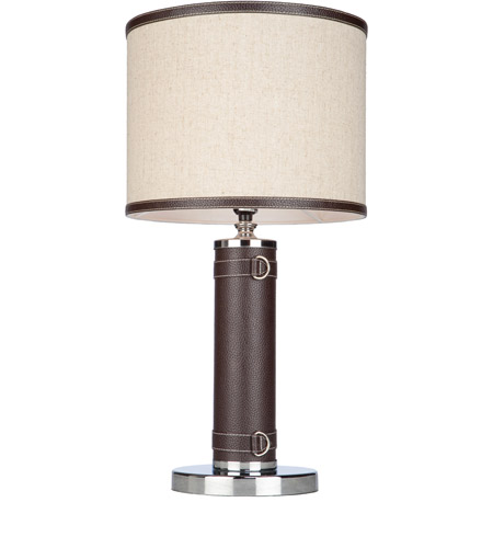 Artcraft SC878OM Bay Street 25 inch 100 watt Oatmeal Table Lamp Portable Light photo