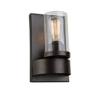 Artcraft Lighting Melno Park 1 Light Wall Bracket in Dark Chocolate AC10007