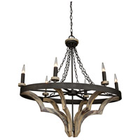 Artcraft Lighting Castello 6 Light Chandelier AC10018