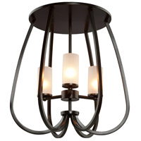 Artcraft Lighting Milbrook 3 Light Semi Flush in Oil Rubbed Bronze AC10023OB