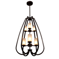 Artcraft Lighting Milbrook 6 Light Chandelier in Oil Rubbed Bronze AC10026OB