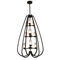 Artcraft Lighting Milbrook 9 Light Chandelier in Oil Rubbed Bronze AC10029OB