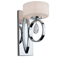 Artcraft Lighting Piccadilly 1 Light Wall Bracket in Chrome AC10031CH