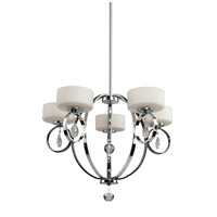 Artcraft Lighting Piccadilly 5 Light Chandelier in Chrome AC10035CH
