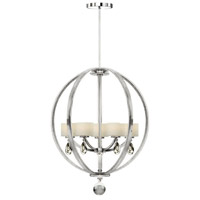 Piccadilly 5 Light 21 inch Chrome Chandelier Ceiling Light