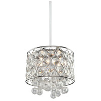 Artcraft Lighting Cascade 4 Light Chandelier in Chrome AC10044