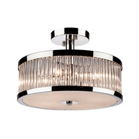 Artcraft Lighting Nova 4 Light Semi Flush in Chrome AC10054CH