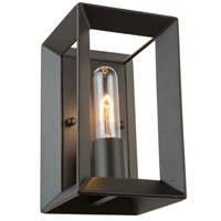 Vineyard 1 Light 5 inch Matte Black Wall Bracket Wall Light