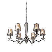 Artcraft Lighting Brera 6 Light Chandelier in Chrome AC1006CH