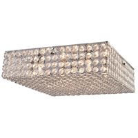 Gage Park 5 Light 16 inch Chrome Flush Mount Ceiling Light