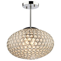 Artcraft Lighting Pandora 3 Light Single Pendant in Chrome AC10091