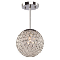 Artcraft Lighting Pandora 3 Light Single Pendant in Chrome AC10093