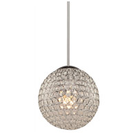 Artcraft Lighting Pandora 2 Light Single Pendant in Chrome AC10094