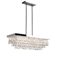 ARTCRAFT Elegante 5 Light Chandelier in Chrome AC10116