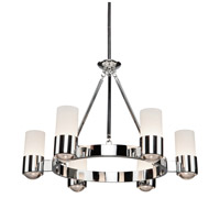 Artcraft Lighting Trenton 6 Light Chandelier in Chrome AC10126