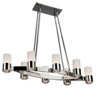 Artcraft Lighting Trenton 8 Light Chandelier in Chrome AC10127