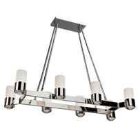 Artcraft Lighting Trenton 8 Light Chandelier in Chrome AC10128