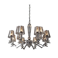Artcraft Lighting Brera 12 Light Chandelier in Chrome AC1012CH photo thumbnail