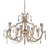 Artcraft Lighting Madison 12 Light Chandelier in Silver Leaf AC10132