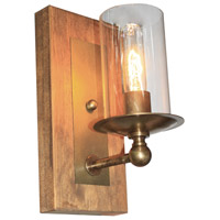 Legno Rustico 1 Light 6 inch Burnished Brass Wall Bracket Wall Light