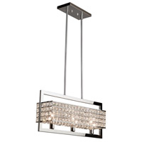 Cambria 3 Light 24 inch Chrome Island Light Ceiling Light