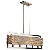 Cambria 5 Light 38 inch Chrome Island Light Ceiling Light