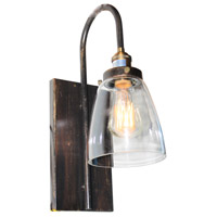Greenwich 1 Light 6 inch Bronze and Copper Wall Sconce Wall Light