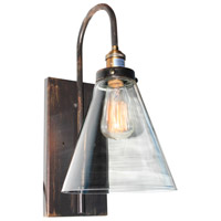 Artcraft AC10169 Greenwich 1 Light 6 inch Bronze and Copper Wall Sconce Wall Light