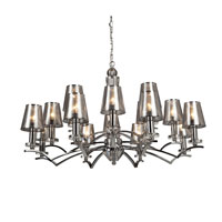 Artcraft Lighting Brera 16 Light Chandelier in Chrome AC1016CH